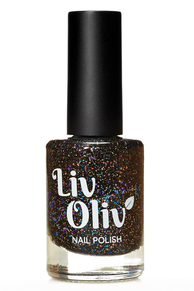 Livoliv cruelty free nail polish glitter