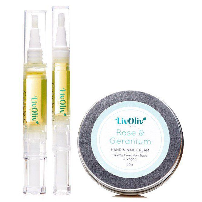 Hand Cream and Cuticle Oils