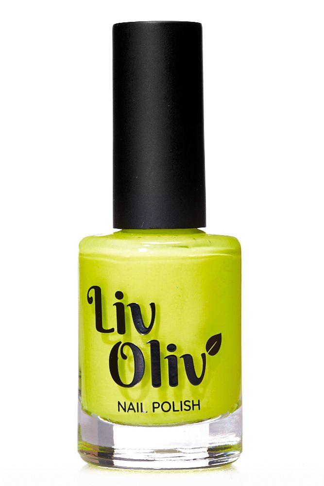 Neon Yellow cruelty free Nail Polish