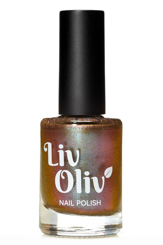 Multi coloured magnetic cruelty free nail polish