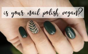 Is your nail polish vegan?